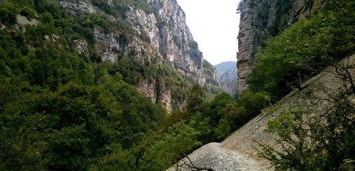 Le sentier Blanc-Martel, Gorges du Verdon