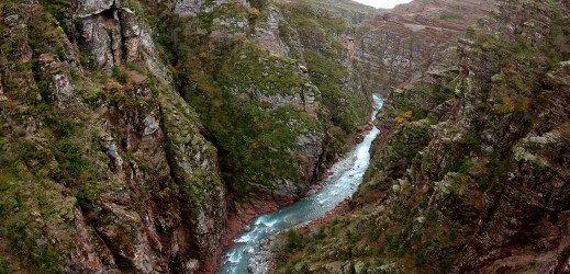 Gorges de Daluis, Mercantour