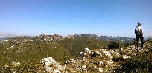 Boucle des Santons, massif de l'Etoile