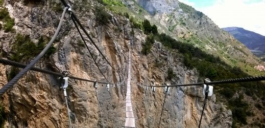 Via Ferrata de la Grande Fistoire, Le Caire(Alpes)